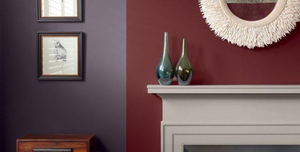 Burgundy Living Room Color Schemes 14