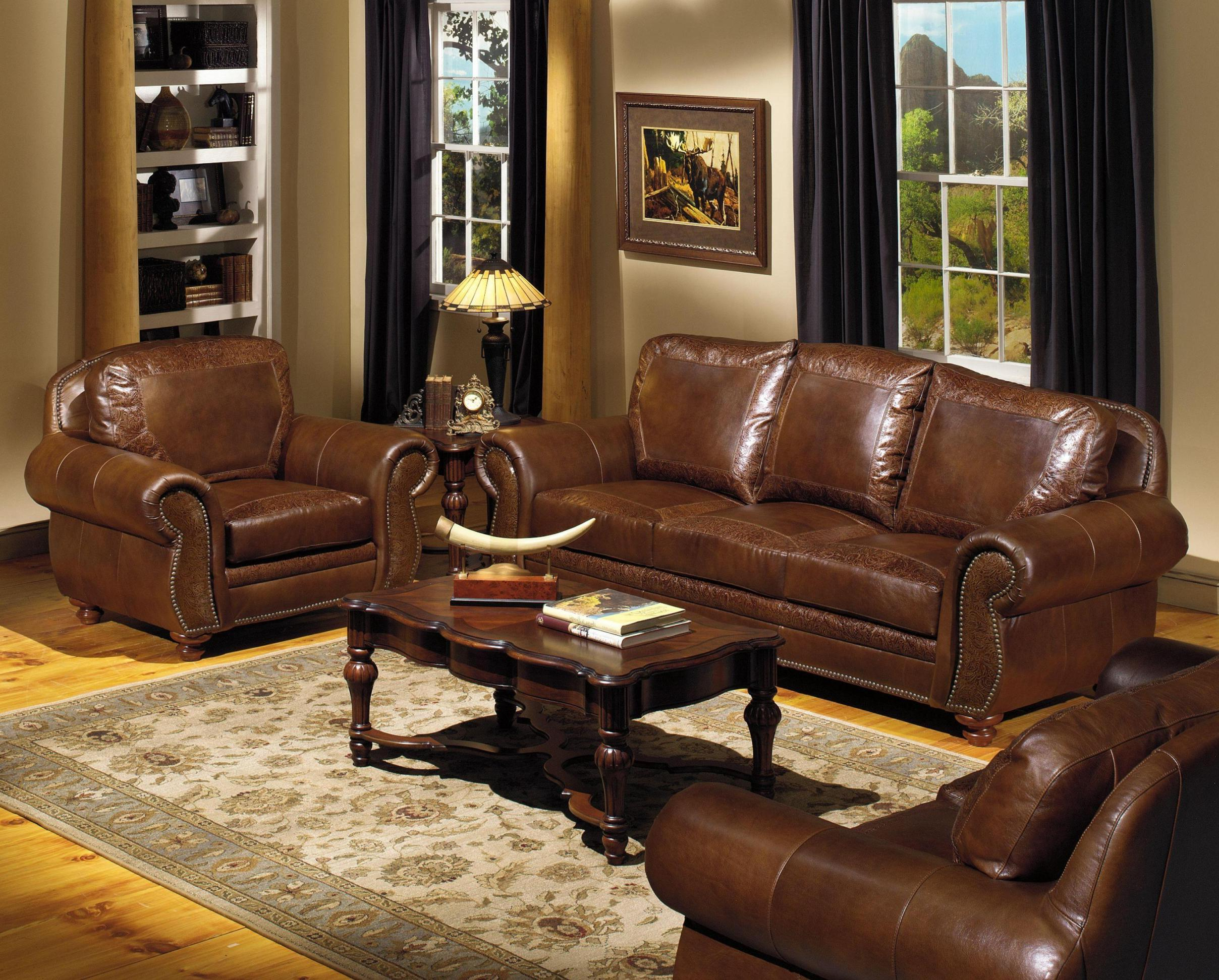 Living Room Furniture: Cook Brothers Living Room Sets
