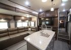 fifth wheel campers with front living rooms 14