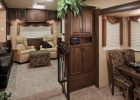 fifth wheel campers with front living rooms 17