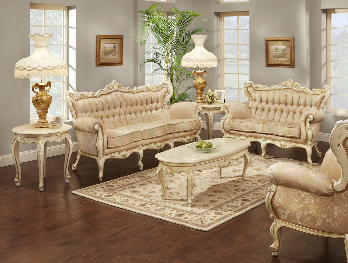 french provincial living room set 01