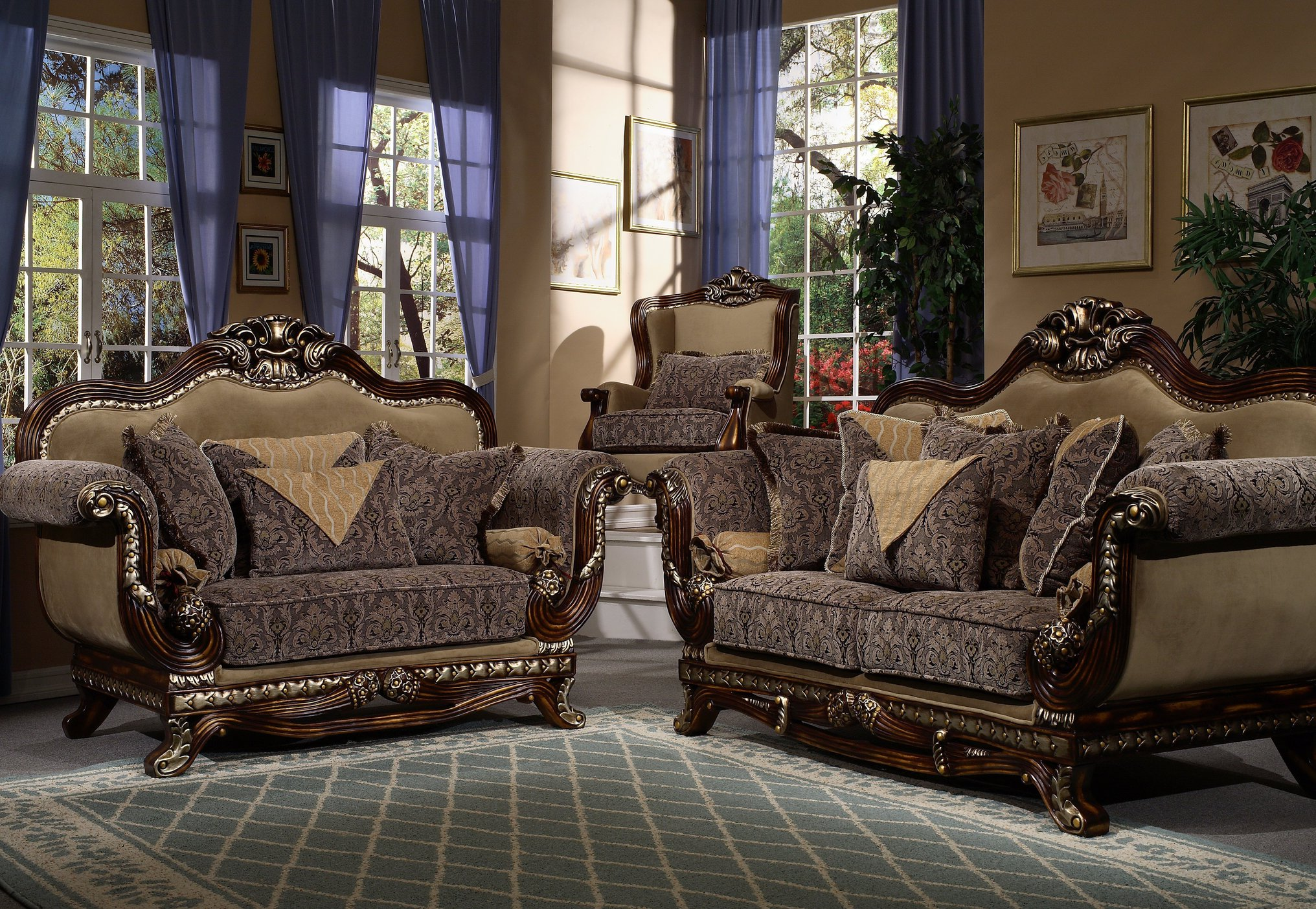 french provincial living room set 02