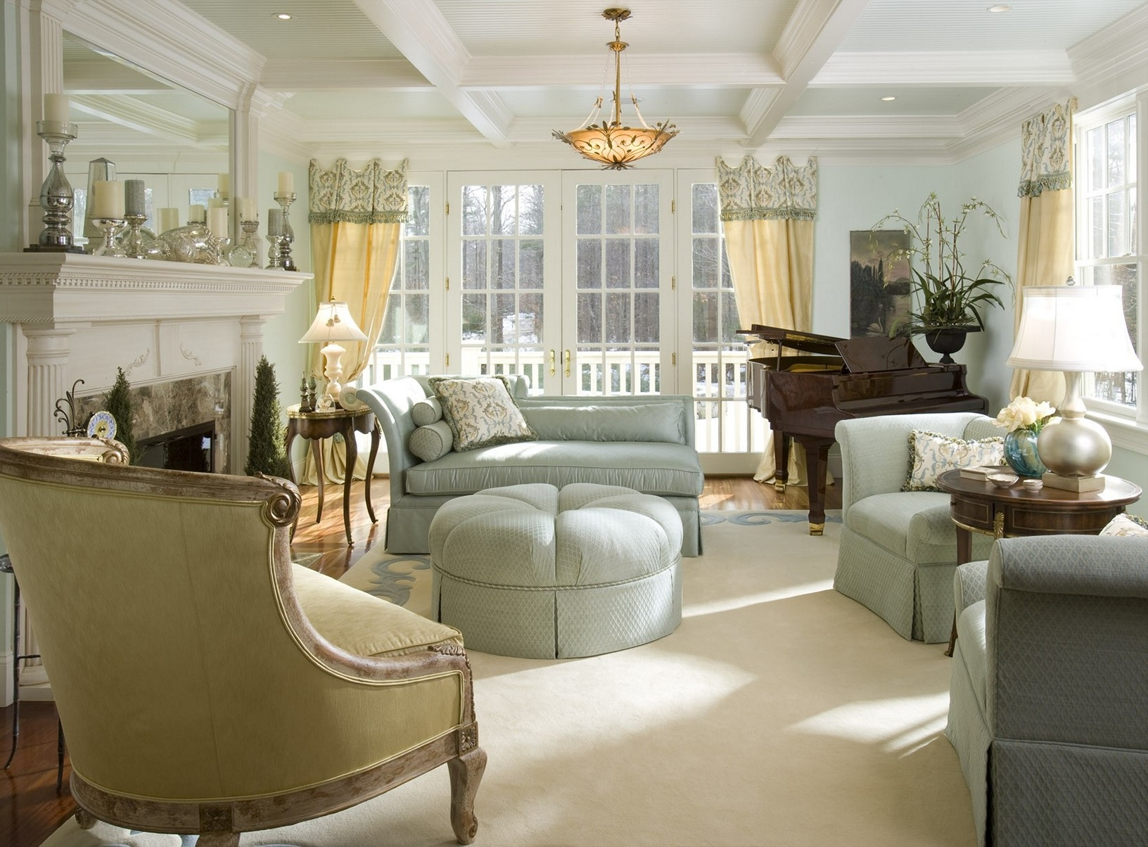 french provincial living room set 05