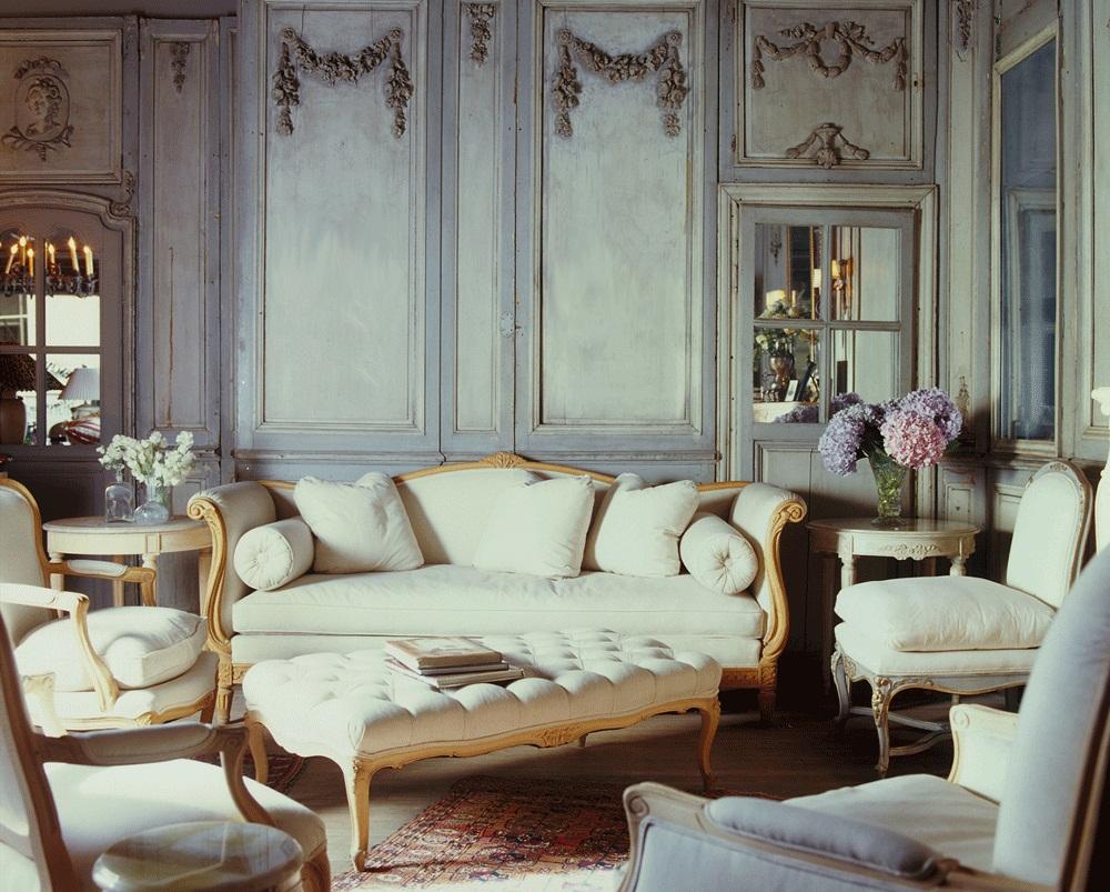 french provincial living room set 06 | Roy Home Design