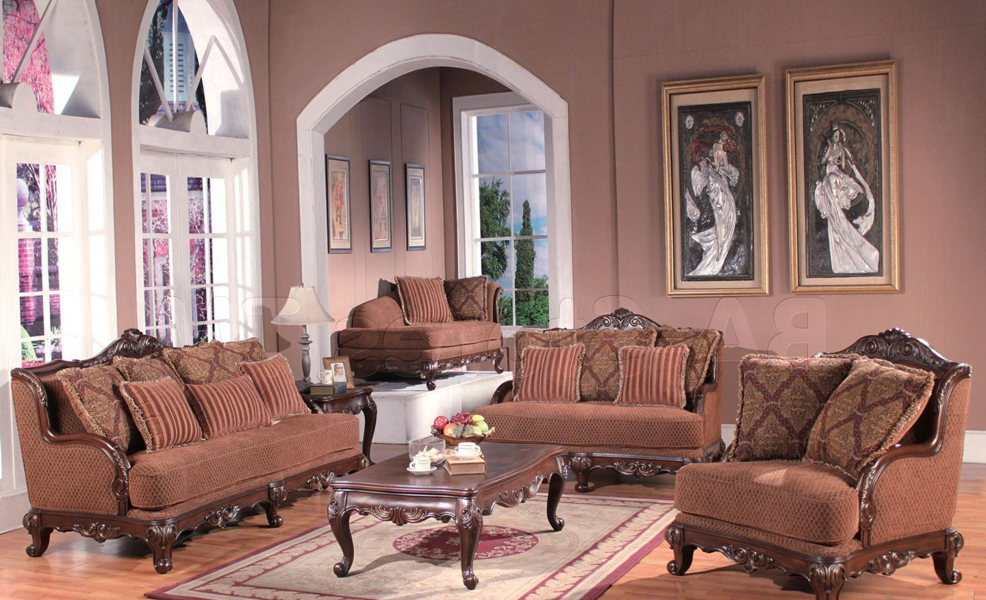 French Provincial Living Room Set Furniture Roy Home Design