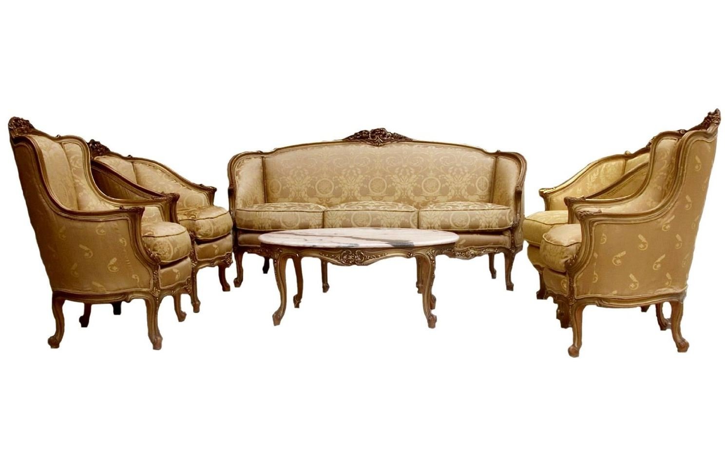 french provincial living room set 09