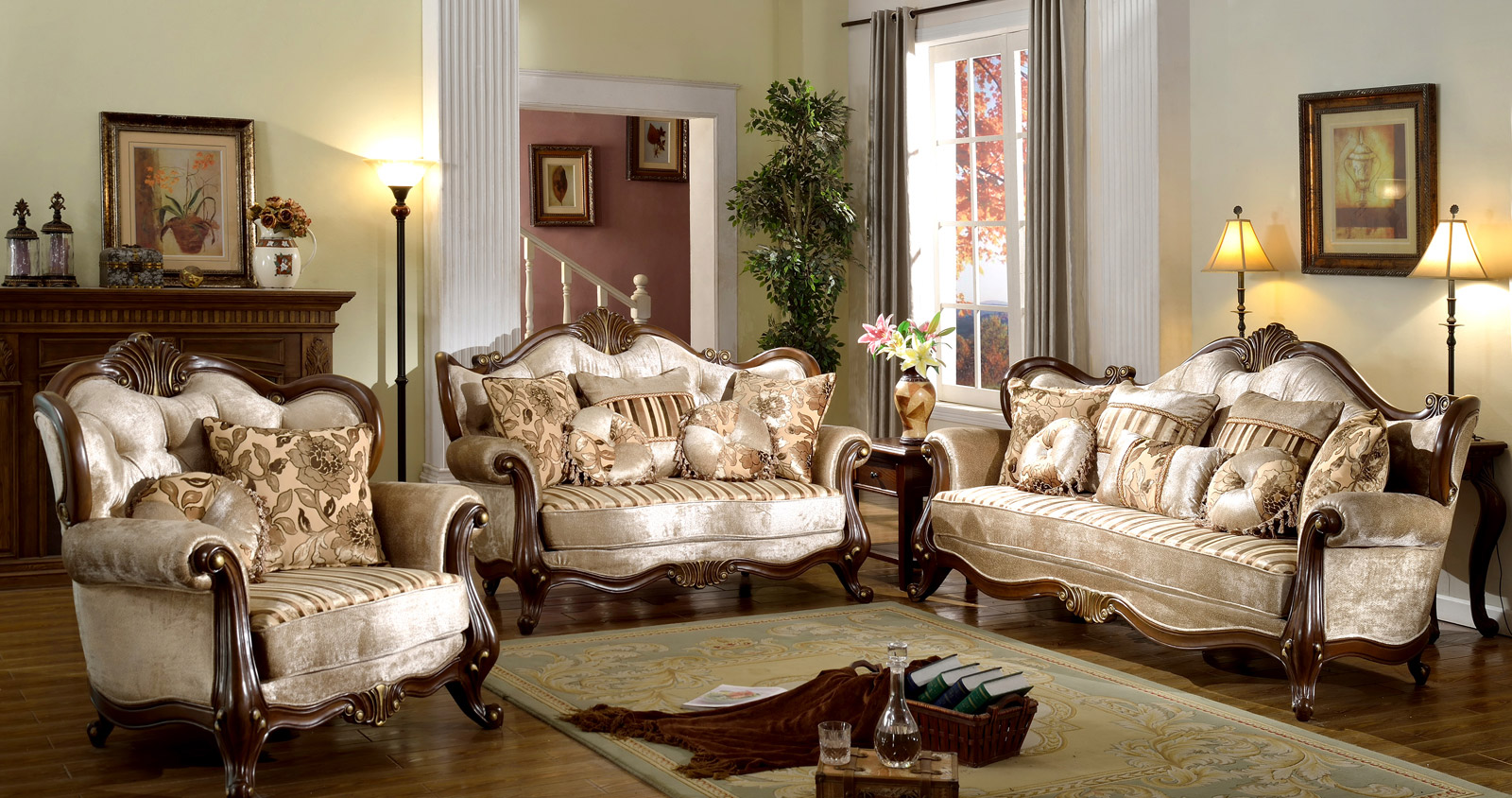 french provincial living room set 10