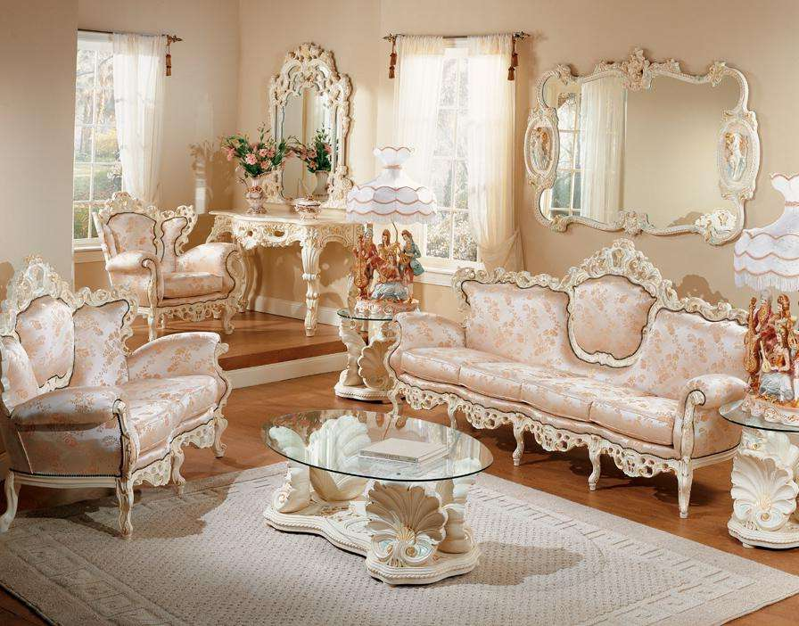 French Provincial Living Room Set Furniture | Roy Home Design