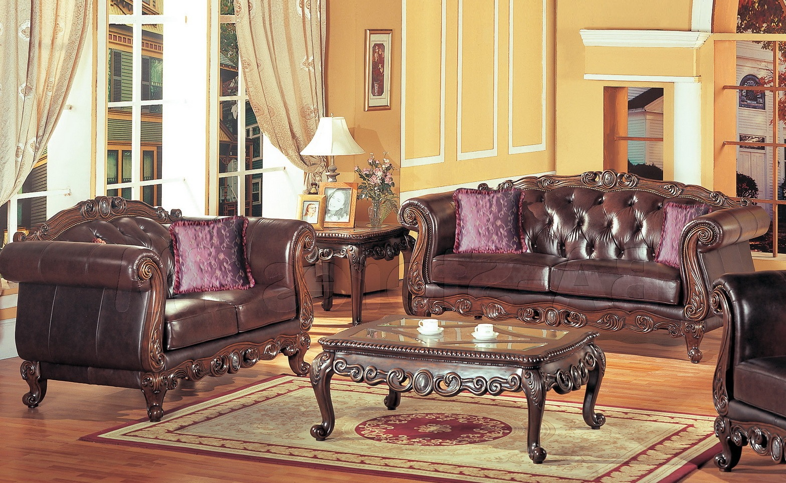 french provincial living room set 16