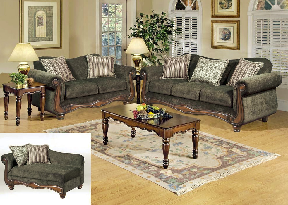 french provincial living room set 17