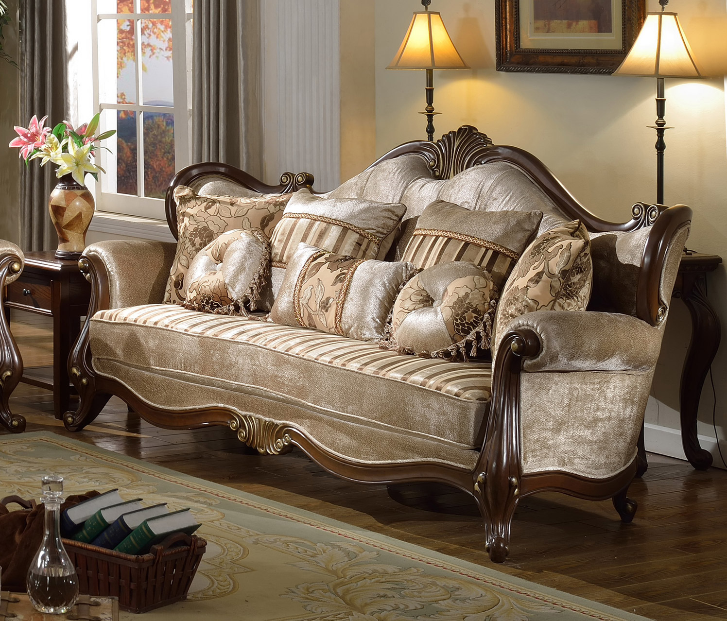French provincial living room set furniture roy home design - Home and living ...