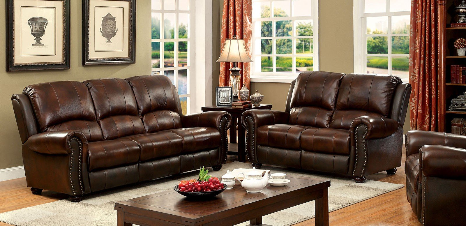 furniture of america living room collections 27