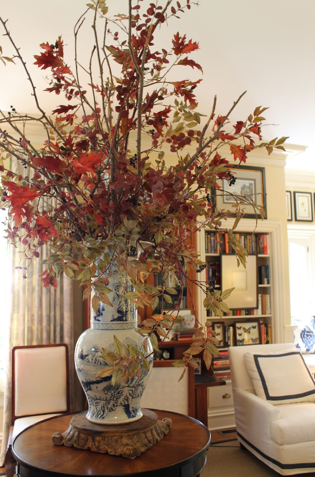 Tall Vases With Branches