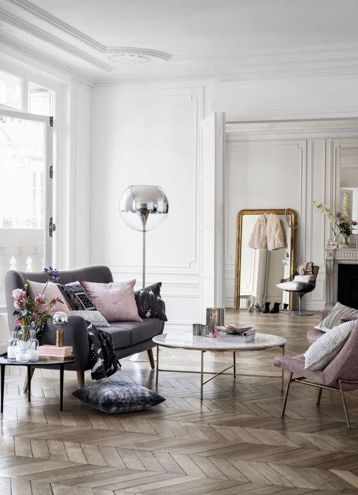 paris themed living room 13