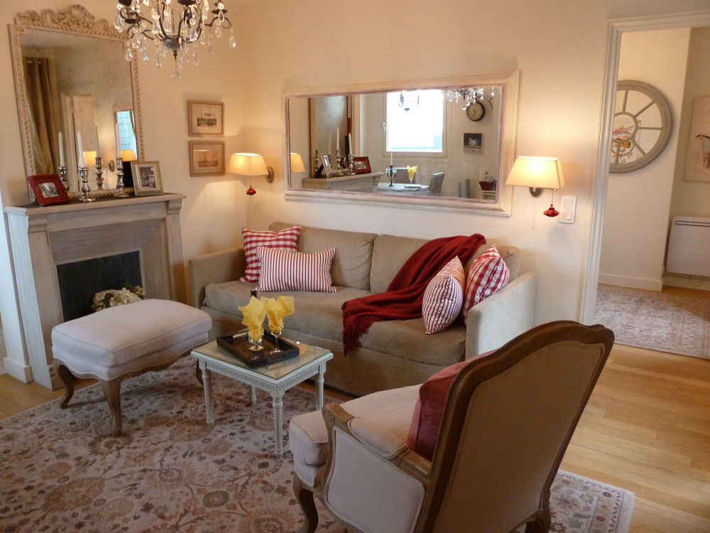 paris themed living room 15