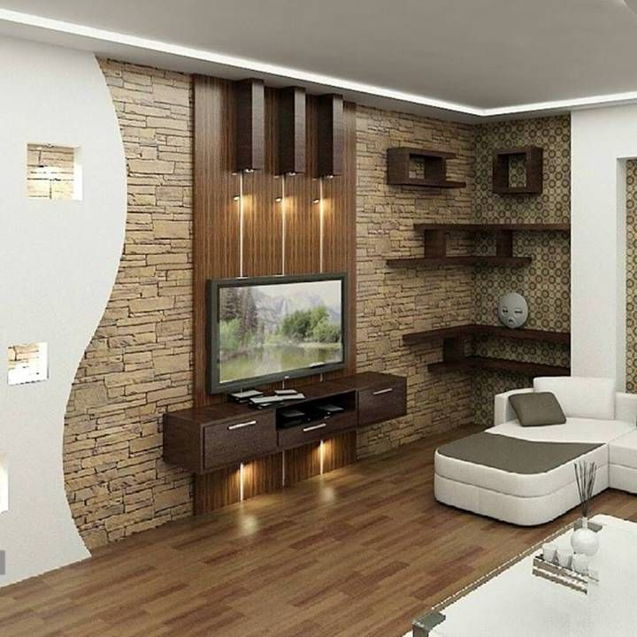 tv wall decoration for living room 15
