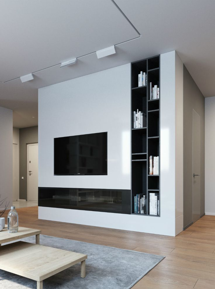 tv wall decoration for living room 17