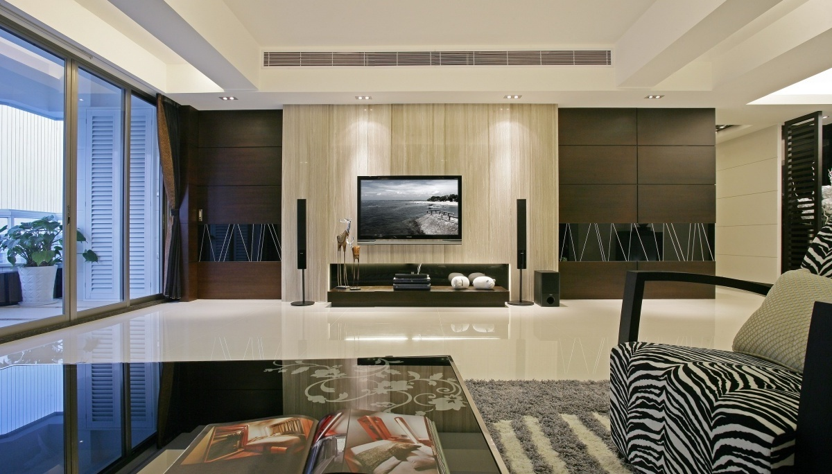 tv wall decoration for living room 26