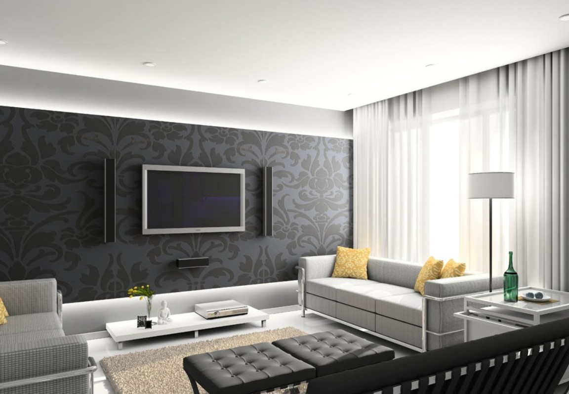 tv wall decoration for living room 30