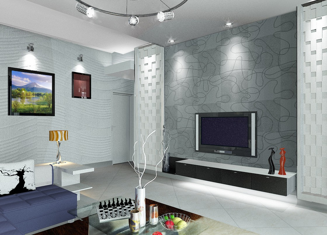 tv wall decoration for living room 31