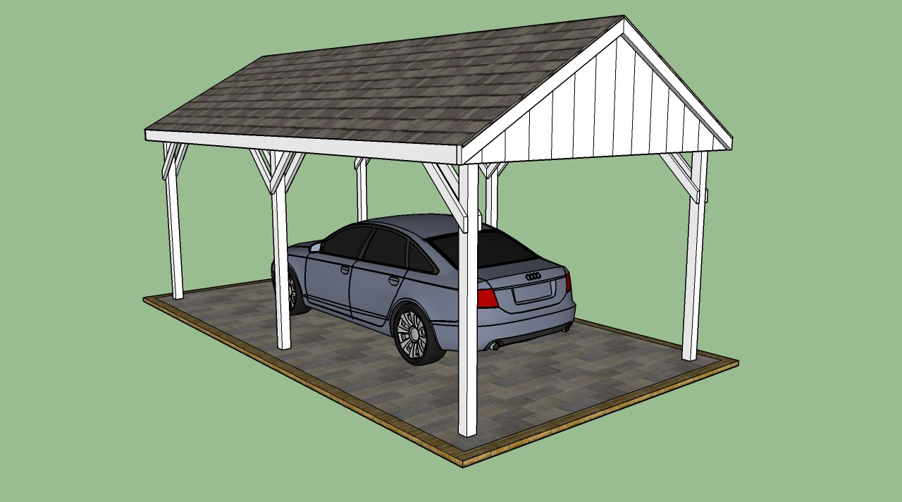 Building a Carport-Free-carport-plans-metal carports near me