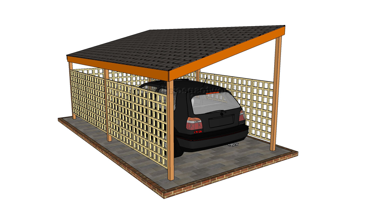 Building a Carport-Wooden-Carport-Plans-Free-carport ideas