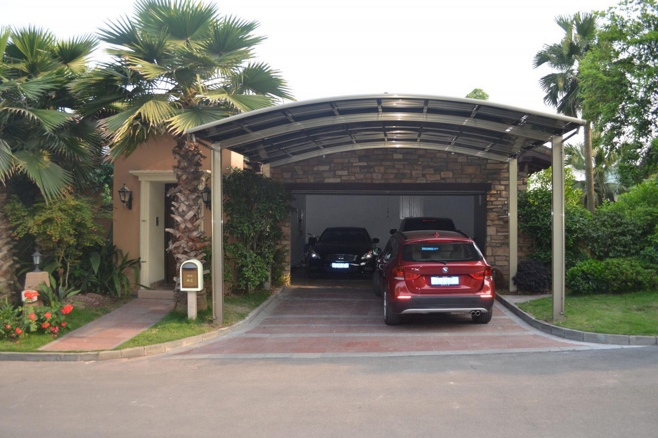 Building a Carport-aluminum-carport-luxycarports-metal-carport-kit-with-regard-to-metal-carport-kits-metal-carport-kits