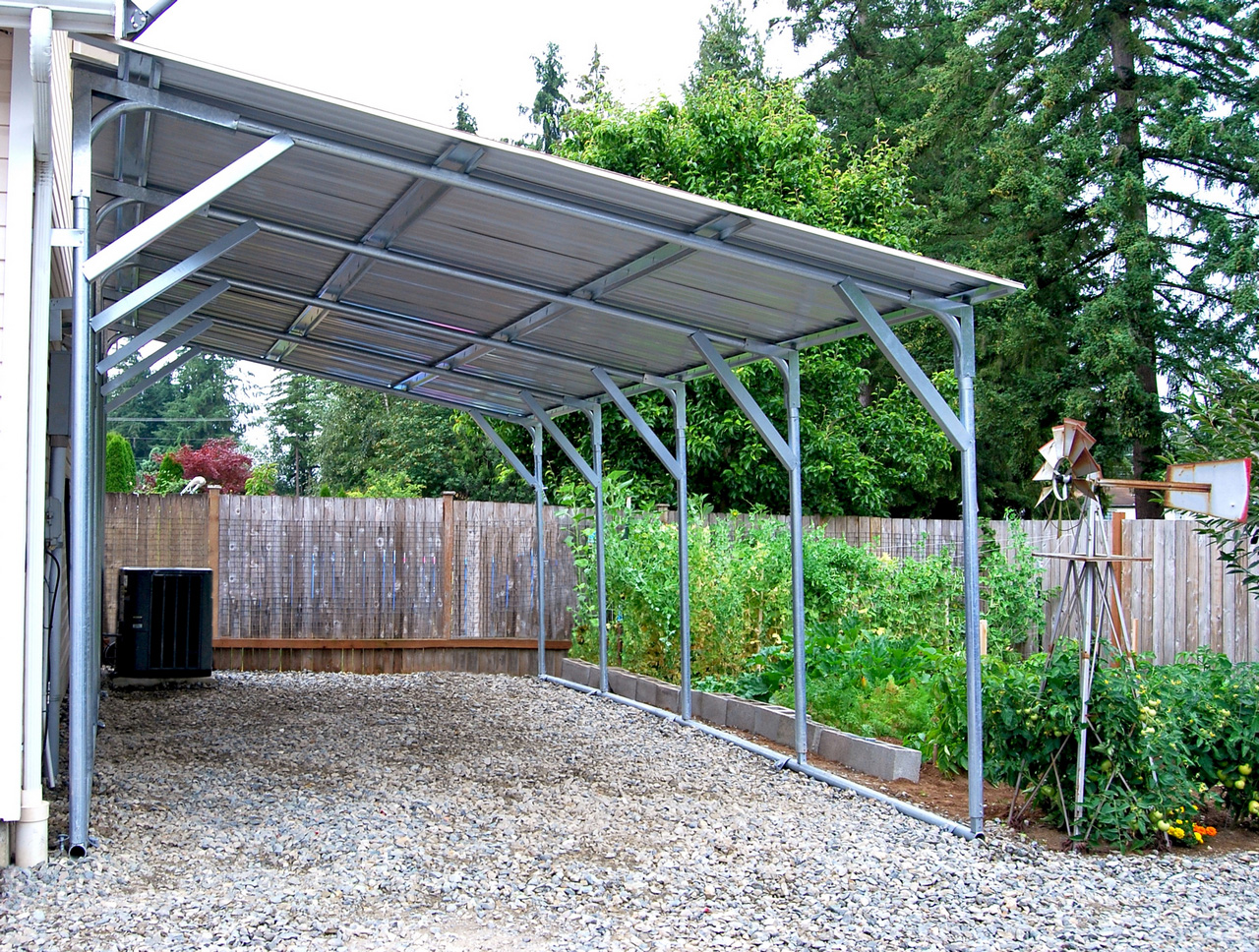 Building a Carport-how to build a carport-portable carport