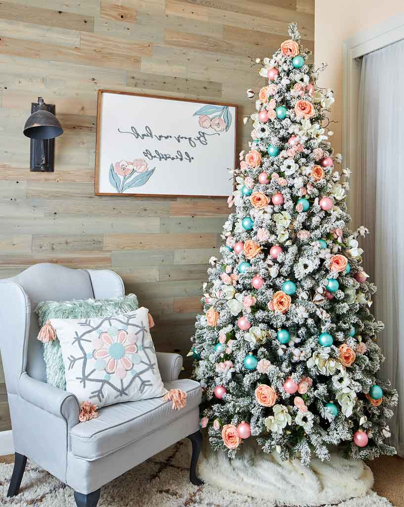 Five Christmas Tree Theme Decorations Designs for a Festive Home for the Holidays | Roy Home Design