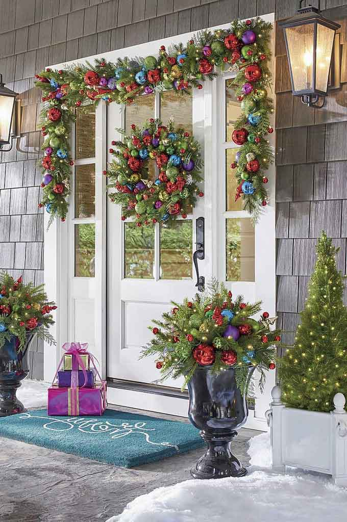 Find Out Excellent Door Covers for Christmas Ideas to Transform Your Home Appeal | Roy Home Design