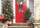 front door christmas trees with lights small front door christmas trees