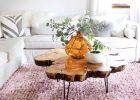 large wood slice coffee table world market coffee table
