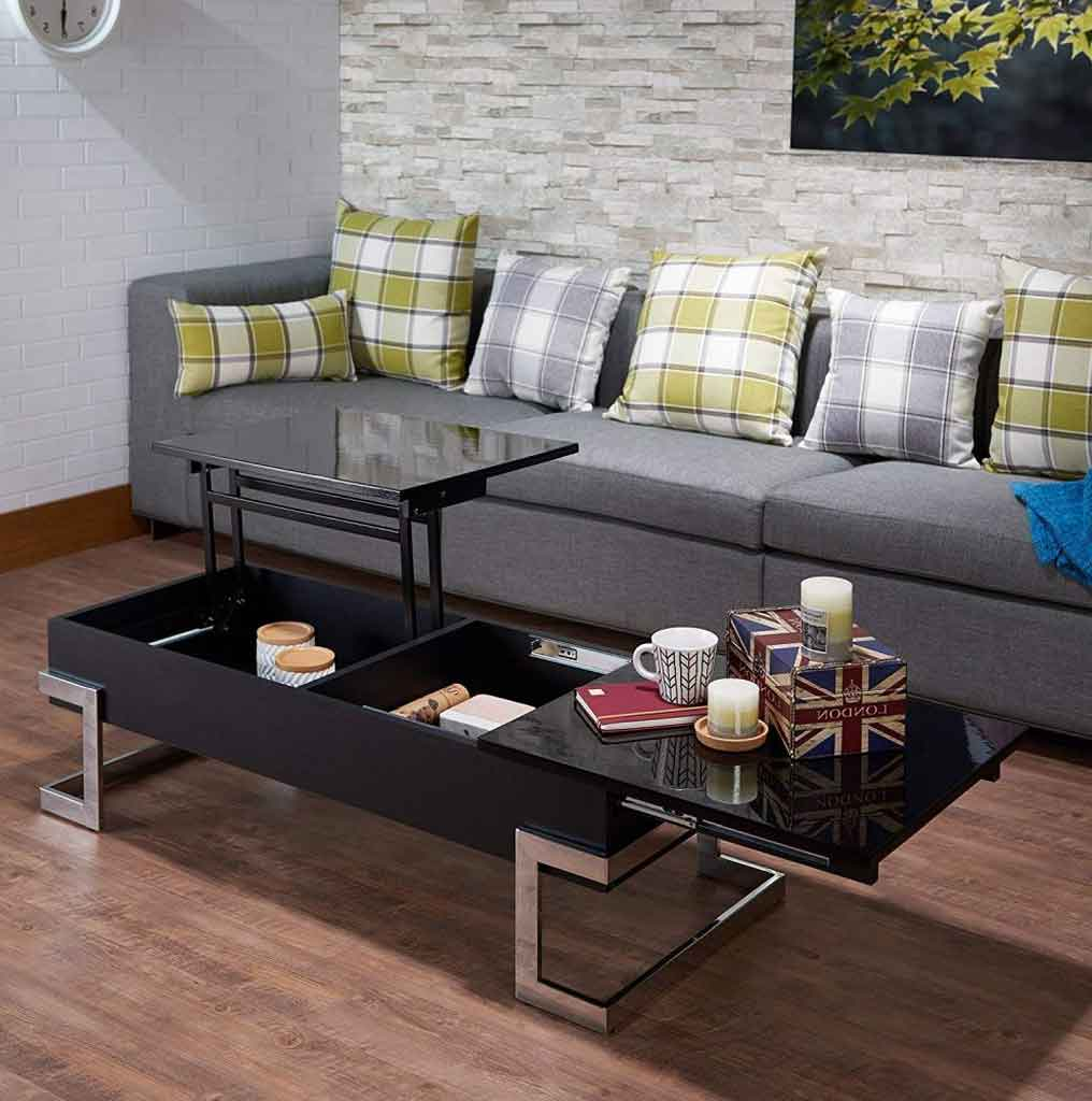 4 Reasons Why People Like A Lift Top Coffee Table With Hidden Storage   Roy Home Design