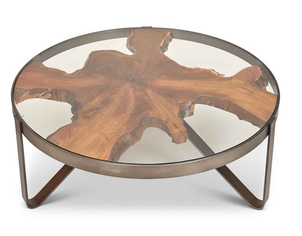 7 Wood Slice Coffee Tables To Bring In Outdoor And Add Natural Touch | Roy Home Design