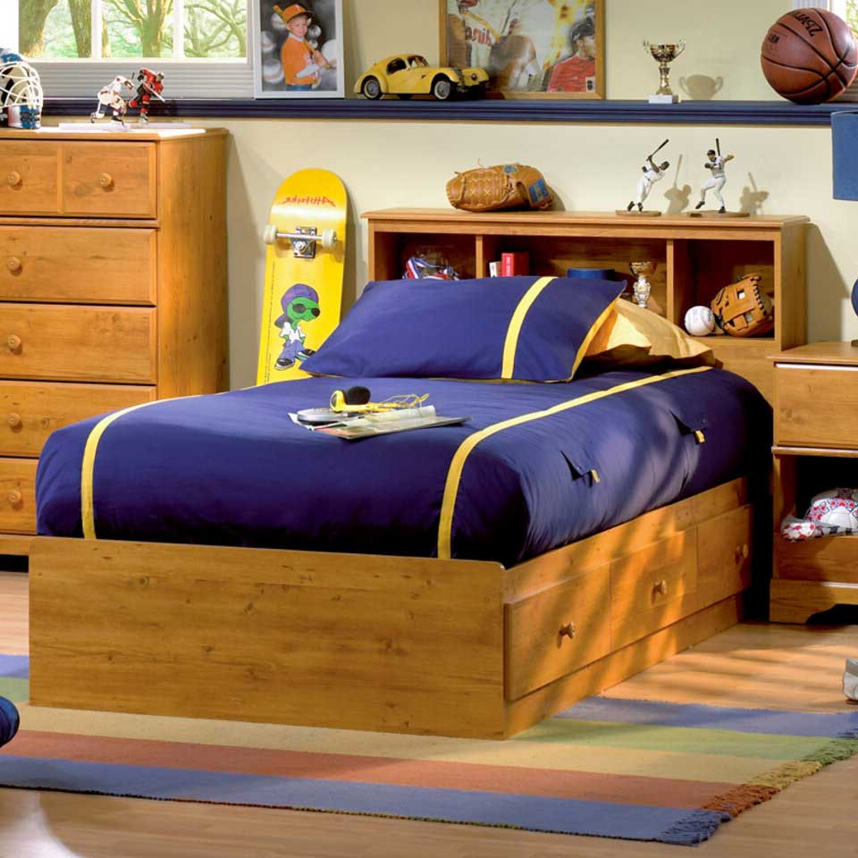 Twin XL Bed Frame With Drawers Design To Save Space And Maximizing Room | Roy Home Design