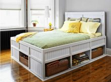 Twin XL Bed Frame With Drawers Design To Save Space And Maximizing Room   Roy Home Design