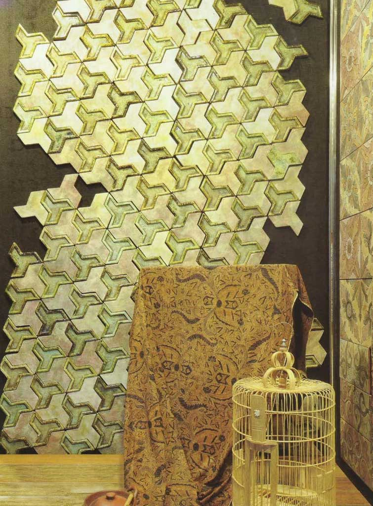 Wall Cover Ideas: Wall Metal Panel Or 3D Ceramic Tile? | Roy Home Design
