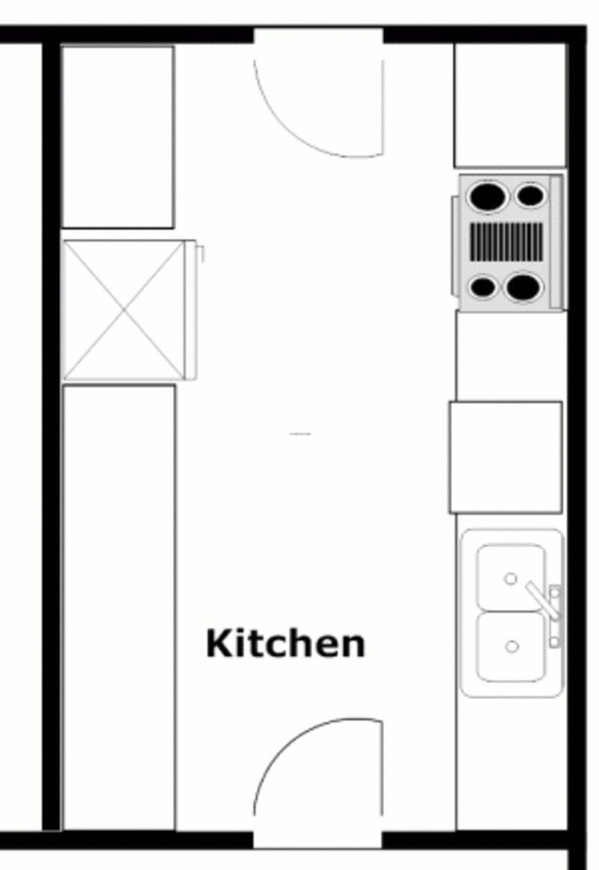 Basic Ideas For Kitchen Remodeling Floor Plans