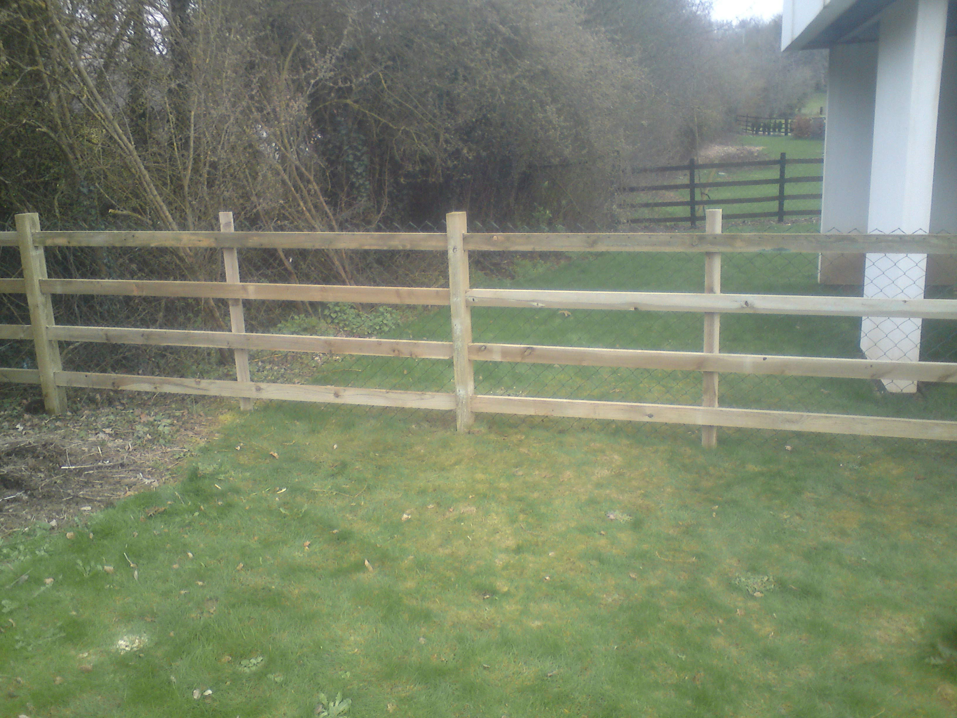 Cheap Fence Ideas For Dogs Big