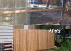 Cheap Fence Ideas For Dogs for Small That Dig