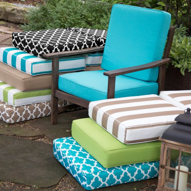 Deep Seating Replacement Cushions For Outdoor Furniture Ty Pennington