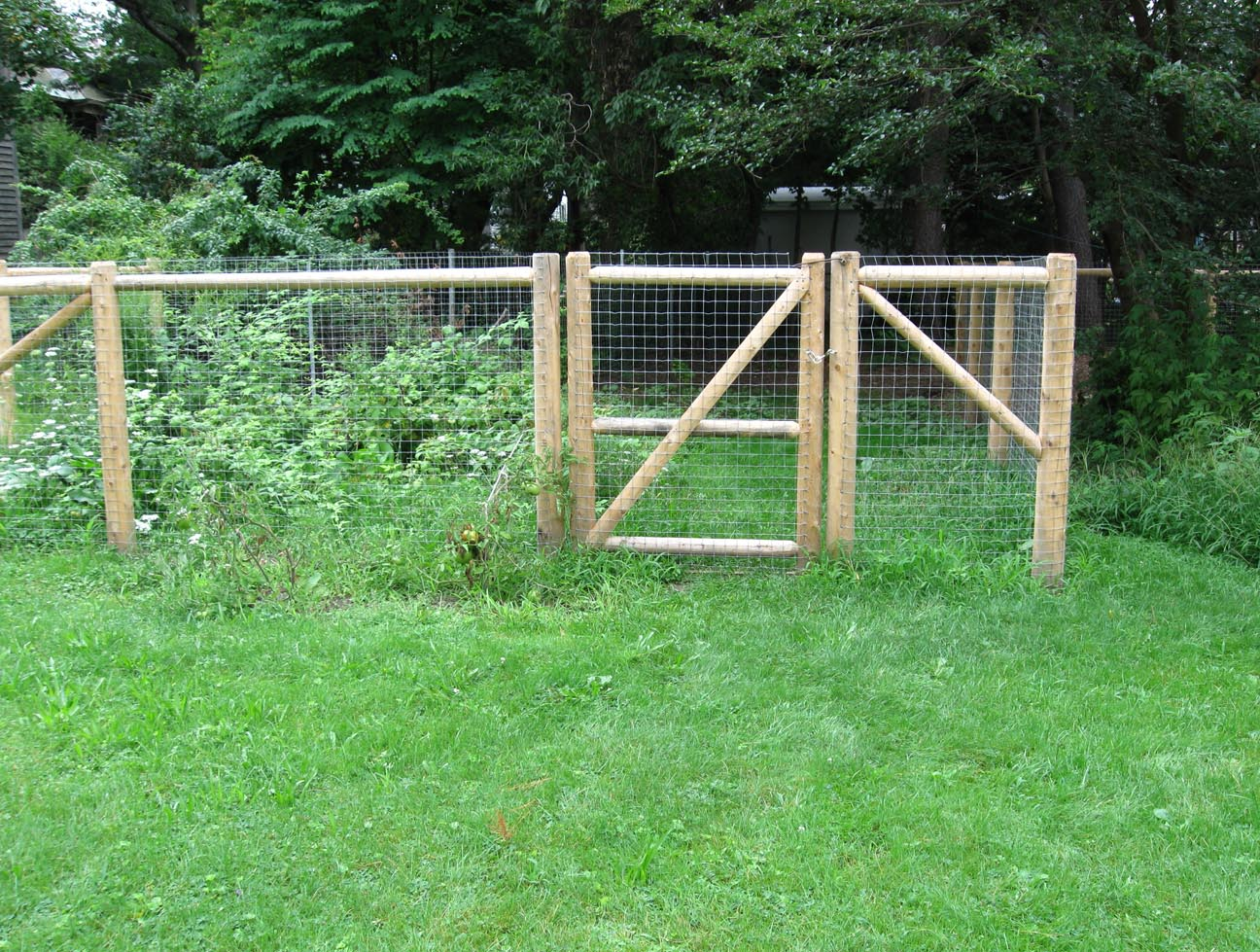 Dog Fences Outdoor Diy To Keep Your Dogs Secure Roy Home