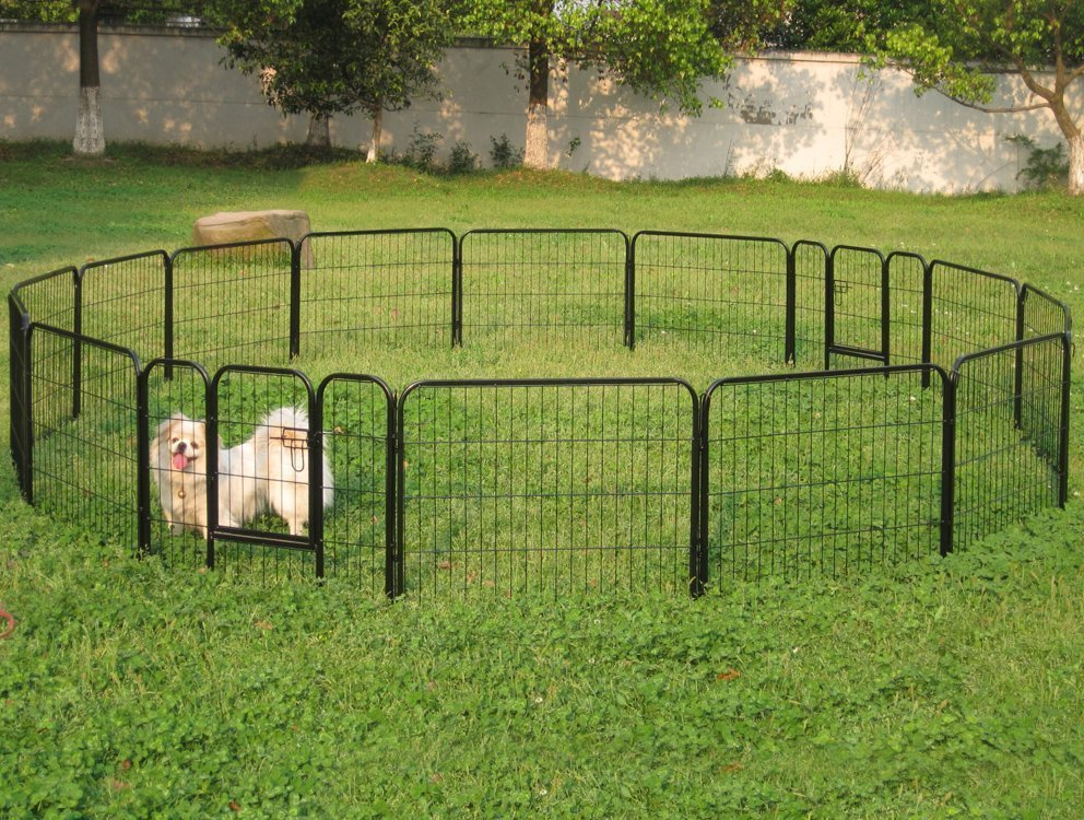 dog fences outdoor diy to keep your dogs secure roy home With small dog fences for outside