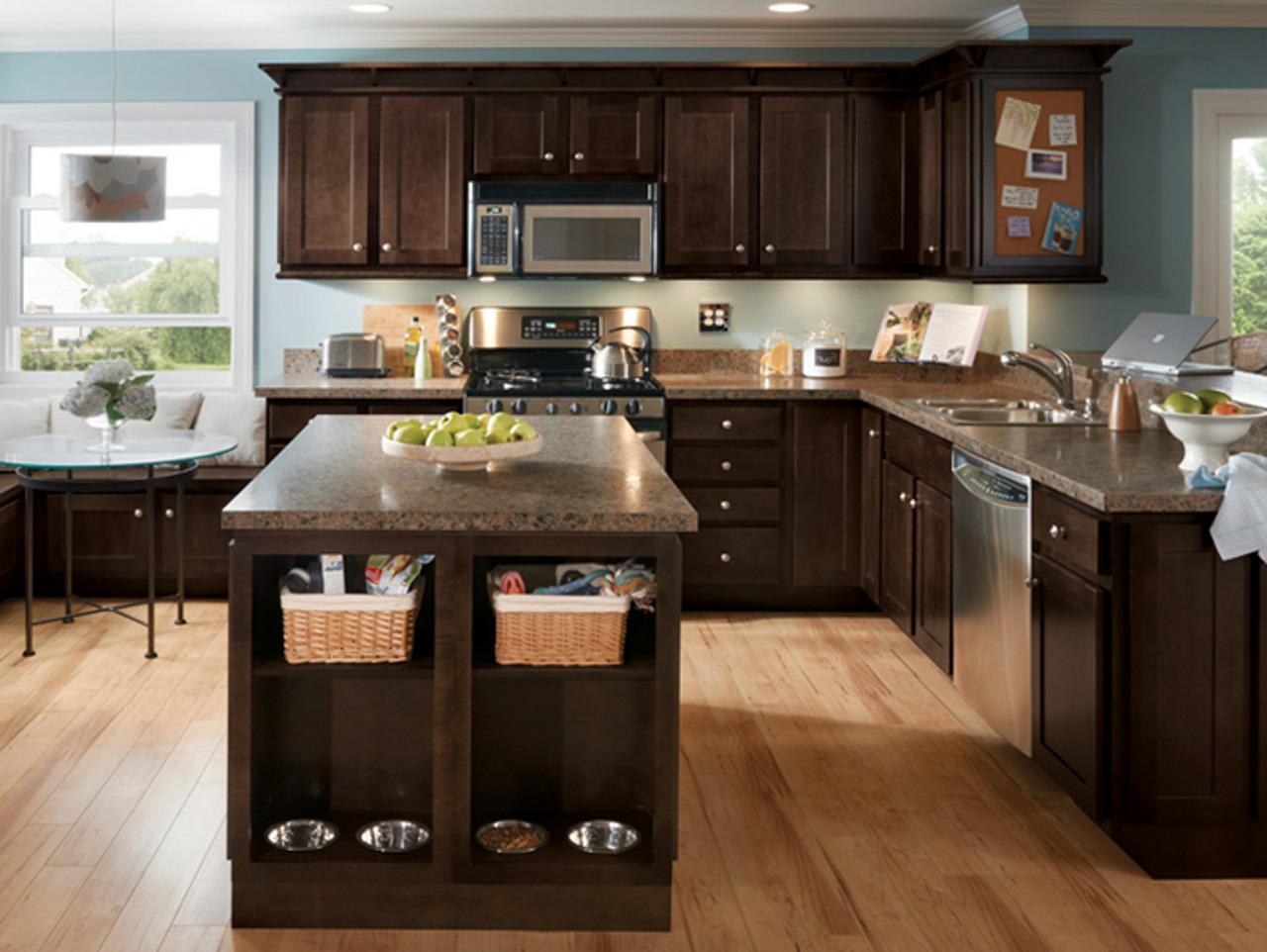 Espresso-Kitchen-Cabinets-espresso color cabinets