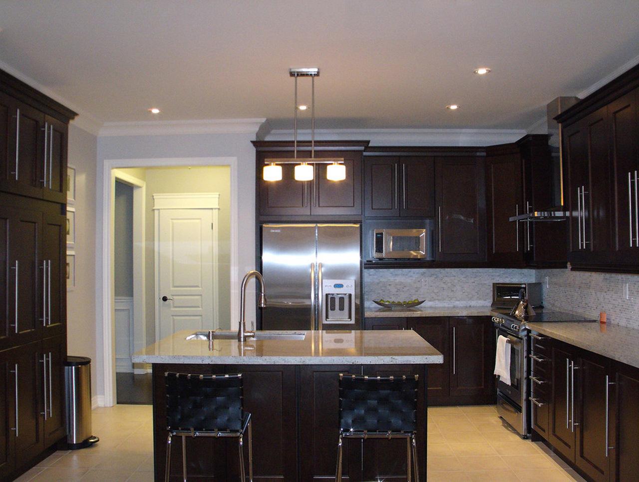 Espresso-Kitchen-Cabinets-espresso-kitchen-cabinets-Kitchen-Contemporary-with-Bianco-Carrara-marble-mini
