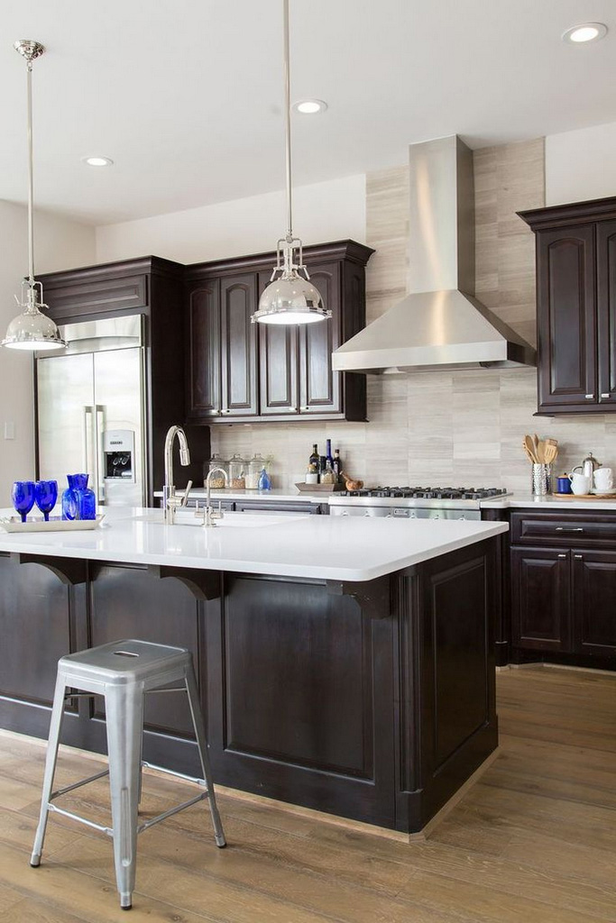 Espresso-Kitchen-Cabinets-espresso stained cabinets-dark espresso kitchen cabinets pictures