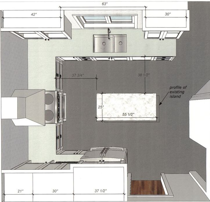 Ideas For Kitchen Remodeling Floor Plans for Small Layouts