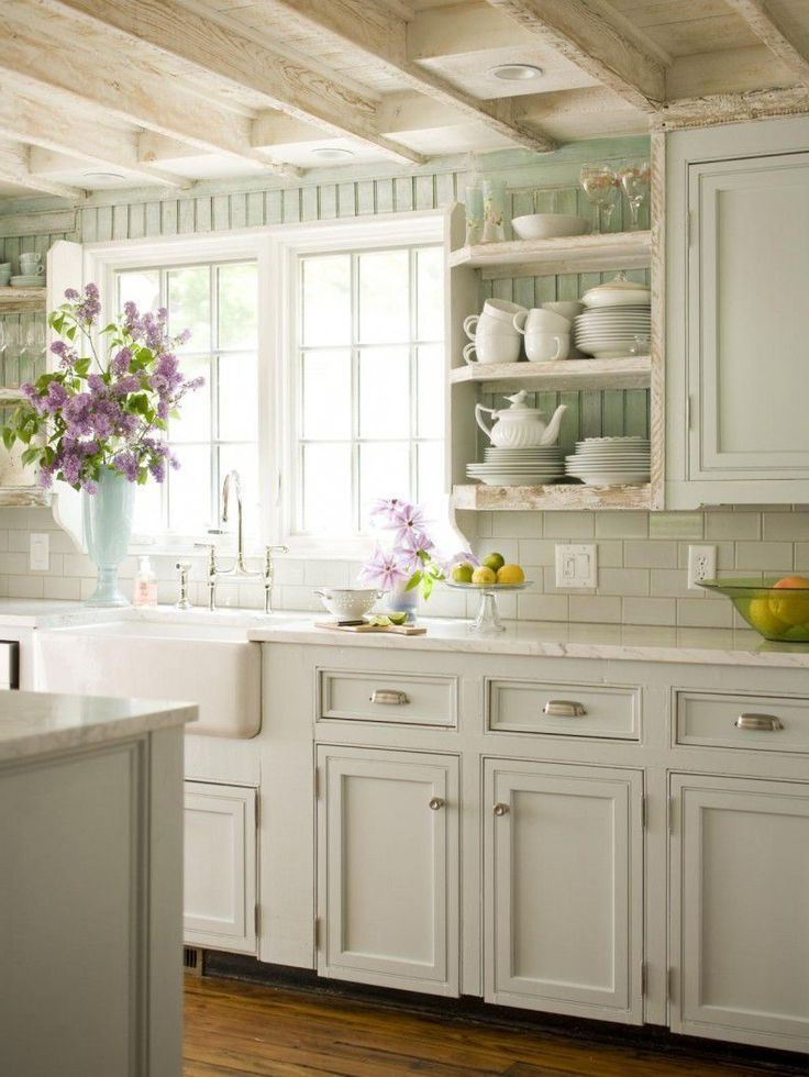 Kitchen Remodels With White Cabinets Country Wood Floor