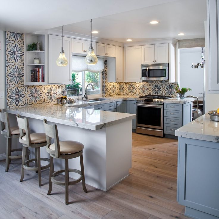 Kitchen Remodels With White Cabinets Modern Pictures