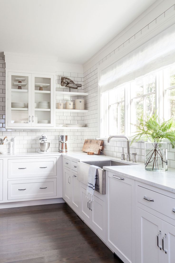 Kitchen Remodels With White Cabinets Modern